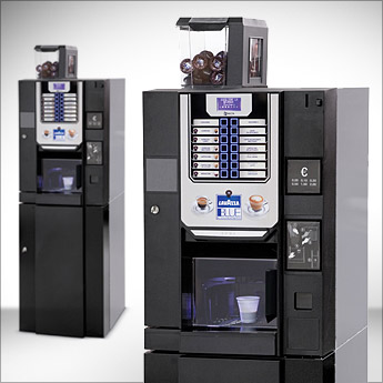 Orasesta Brio Up Blue Lavazza distributore automatico Media Utenza Caffè in cialde Lavazza
