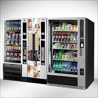 Necta CANTO X2 + Necta SAMBA + G DRINK distribuzione automatica bevande calde fredde snack per grande utenza