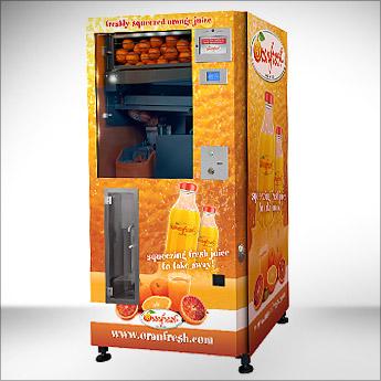 Oranfresh distributore automatico spremuta arancia